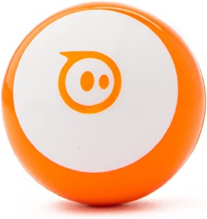 Sphero Mini (Orange) App-Enabled Programmable Robot Ball - STEM Educational Toy for Kids Ages 8 & Up - Drive, Game & Code with Sphero Play & Edu App