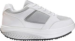 Mapleaf Scarpe Basculanti Donna Uomo Glutei Sneakers Fitness Ginnastica Schiena Dimagranti Sportive Shape Sportiva Scarpa ...