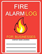 Fire Alarm Log For Businesses: Fire Inspection and Testing Log | Fire Register for Schools, Business and Landlords | Fire ...