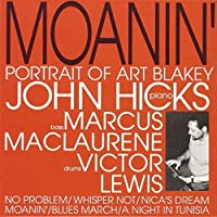 Moanin-Portrait of Art Blakey by John Hicks