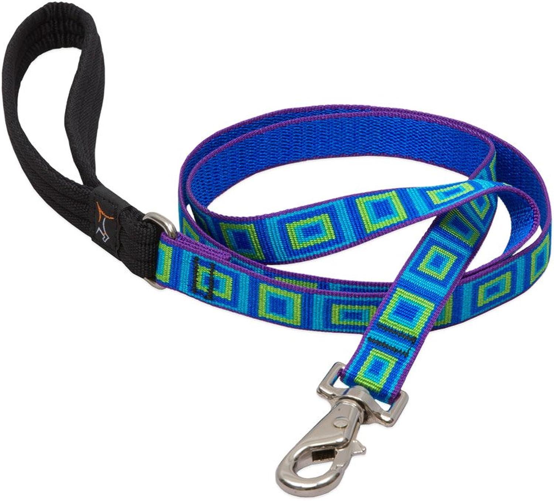 Lupine Sea Glass Padded Handle Dog Lead, 6Feet