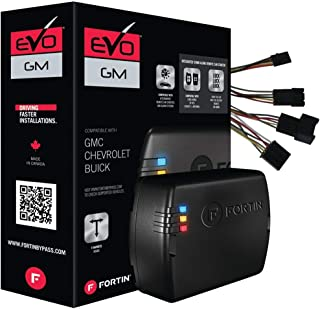 $83 » Fortin EVO-GMT4 Stand-Alone Add-On Remote Start Car Starter System for Cadillac Chevrolet GMC Full Size Vehicles