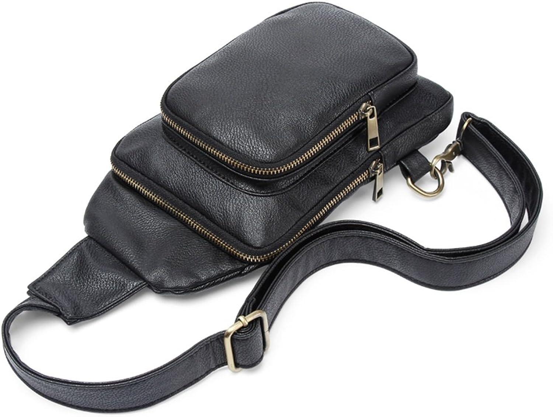 Freizeit Umhängetasche Brusttasche Outdoor-Reit Rucksack Multifunktionale Multifunktionale Multifunktionale Herren Umhängetasche (Farbe   schwarz) B07FD2MH5B | Viele Sorten  4d7d73