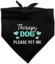 pet therapy dog bandanas