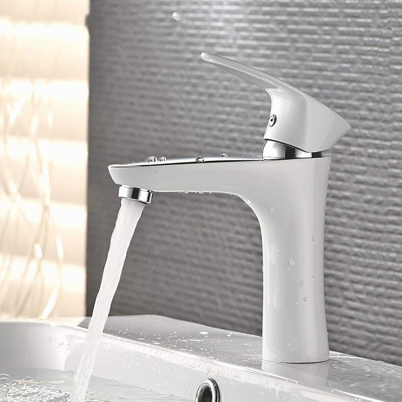 ZHUAPP Wei Waschbecken Waschbecken Wasserhahn Unter Der Theke Waschbecken Wasserhahn Heies Und Kaltes Wasser Malen Wasserhahn