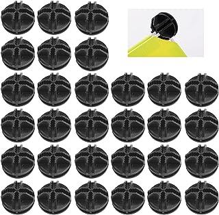 MONSIVILIA 30 PCS Cube Plastique Connecteurs en Plastique ABS 3.7*3.7*2cm Étagère à Cubes Modulaire Portable Cubes de Rang...