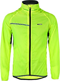 LAMEDA Men's Cycling Jacket Bike Wind Breaker (XX-Large, Green)