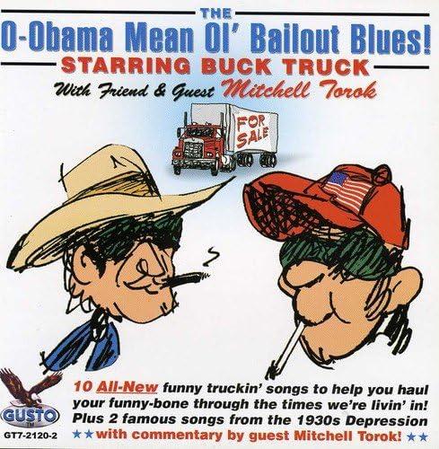 O Obama Mean Ol Bailout Blues product image
