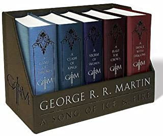 New George R. R. Martins a Game of Thrones Leather-Cloth Boxed Set (Song of Ice.. by TrustyTrade