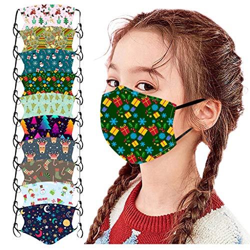 CUPPP Máscara Máscara Reutilizable de algodón, Niño Cuello Polaina Mascarilla para Senderismo al Aire Libre Ciclismo Correr, Ciclismo, Motocicleta
