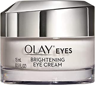 Olay Vitamin C Brightening Eye Cream to Help Reduce Dark Circles, Brightening Cream, 0.5 Fl Oz