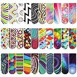 30 Pezzi Segnalibri Magnetici Ottici di Pagina,MWOOT Magnet Bookmark,Colorato Clip di Pagina per Studenti Ufficio Lettura di Articoli di Cancelleria