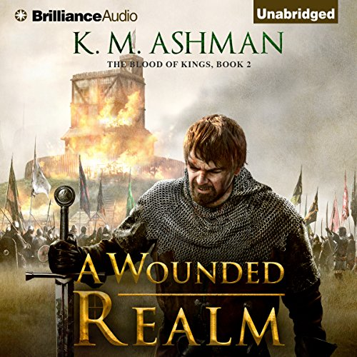A Wounded Realm audiobook cover art