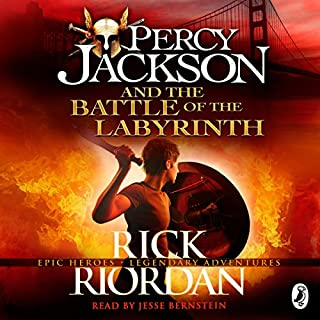 Percy Jackson and the Battle of the Labyrinth                   By:                                                                                                                                 Rick Riordan                               Narrated by:                                                                                                                                 Jesse Bernstein                      Length: 10 hrs and 32 mins     81 ratings     Overall 4.6