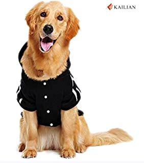 Kailian Big Dog Clothes for Large Dog Hoodies for Large Dog Coats Sweaters for Medium to Large Dogs