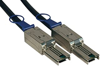Tripp Lite External SAS Cable, 4 Lane - mini-SAS (SFF-8088) to mini-SAS (SFF-8088) 2M (6-ft.)(S524-02M)