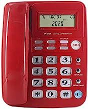 $34 » JeKaVis J-P50 Desk Corded Landline Phone for Small Business and Home, 40dB Amplified Ringer for Seniors Elderly Support Ha...