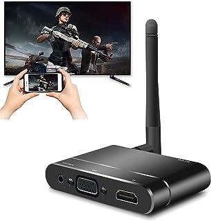 QingH yy HDMI Adaptateur d'affichage sans Fil WiFi 1080P Mobile Écran Mobile Récepteur Dongle à LA TÉLÉ/Prise en Charge du...