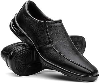 Sapato Social Masculino Em Couro Ultra Confortável