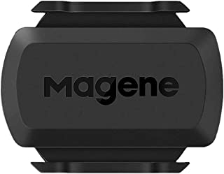 Magene S3+ Cycling Speed or Cadence Sensor, ANT+ and Bluetooth 4.0 Wireless Bicycle RPM Sensor