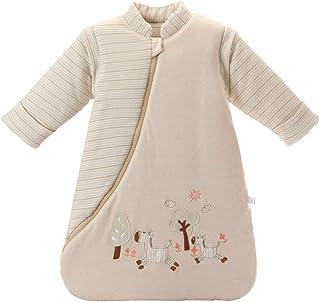Mariisay 3.5 Tog Baby Winter Sleeping Chic Bag Casual Saco De Dormir Para Niños Pequeños De Algodón Pijama Para Niños Bastante Cálido Y Cómodo Caballo Orgánico M Tamaño Del Cuerpo 75 85Cm
