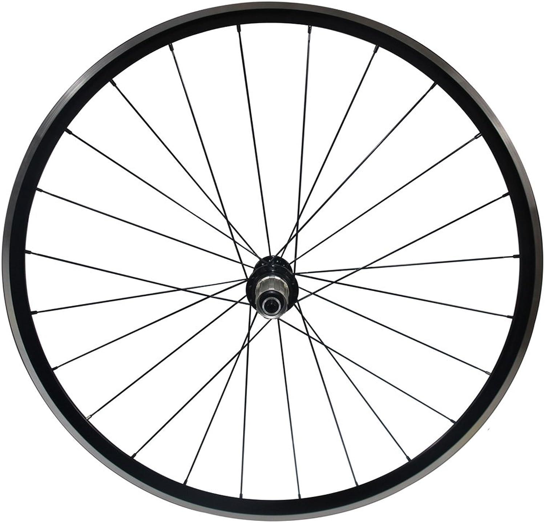 LOLTRA Aluminium Road Bicycle Wheelset, Kinlin XR200 V-Brake 22mm Clincher Alloy Bike Wheels with Bitex R13 Hub and Mac Aero CN 424