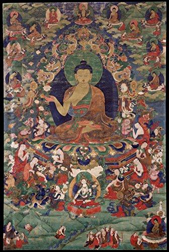 Gifts Delight Laminated 24x35 Poster: Shakyamuni Buddha