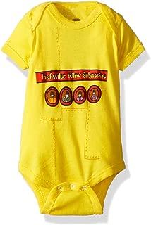 Beatles 'Yellow Submarine' 2-Sided Yellow Baby Romper