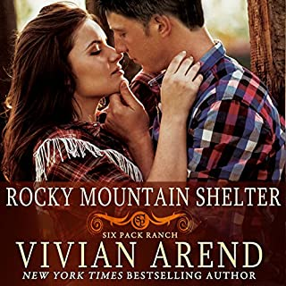 Rocky Mountain Shelter     Six Pack Ranch, Book 8              Written by:                                                                                                                                 Vivian Arend                               Narrated by:                                                                                                                                 Tatiana Sokolov                      Length: 9 hrs and 9 mins     Not rated yet     Overall 0.0