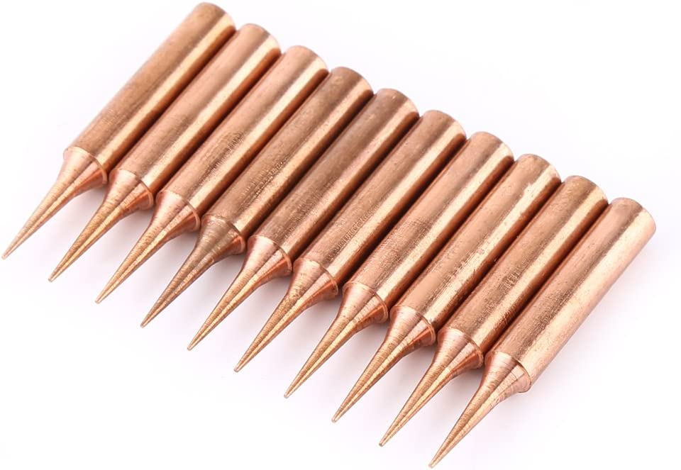 Solder Tips, Super Work Easier Soldering Iron with 10pcs Iron Ti