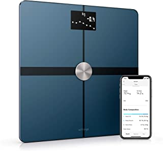 Withings / Nokia | Body+ - Smart Body Composition Wi-Fi Digital Scale with smartphone app, Black (Renewed)
