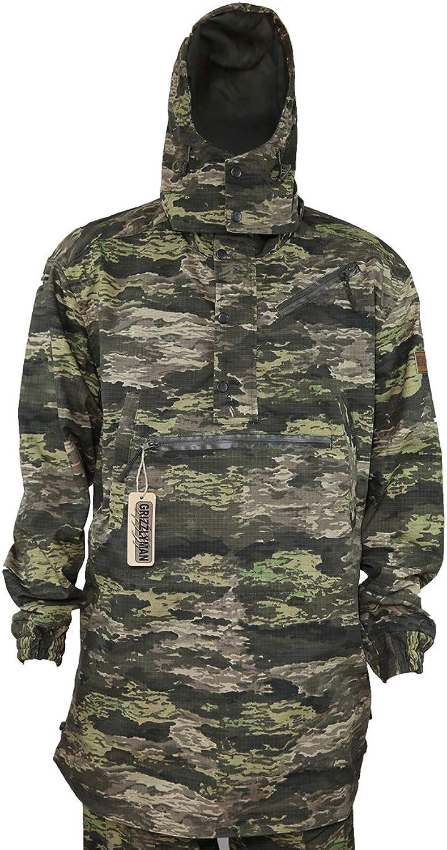 Grizzlyman Hunting,Stalking,Fishing ANORAK Jacket Rip-Stop