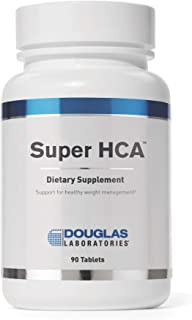 Douglas Laboratories - Super HCA (1,400 mg.) - Supports Weight Management, Regulation of Normal Appetite, and Healthy Serotonin Levels* - 90 Tablets