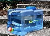Recipiente de 12 L/18 L/22 L para almacenamiento de agua al aire libre, depósito de agua mineral de calidad alimentaria, para coche, Camping, Catering, Mesa de café, de Benbroo, 18L