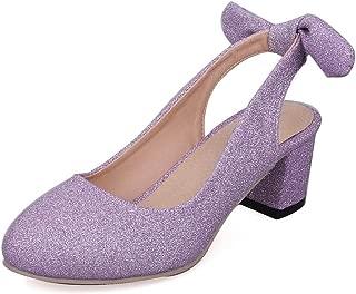 BalaMasa Womens ASL06875 Pu Heeled Sandals