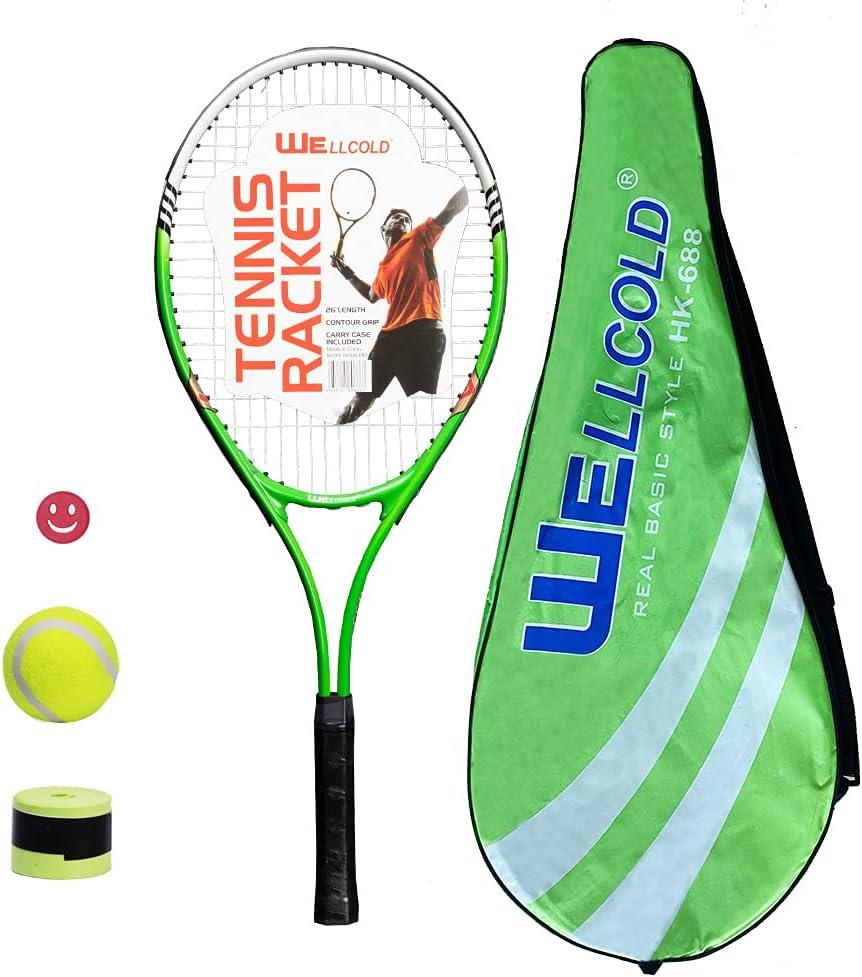 Finally resale start TENNHOOOLL 26 Free shipping Inch Tennis Racket for Backyard Adult Games