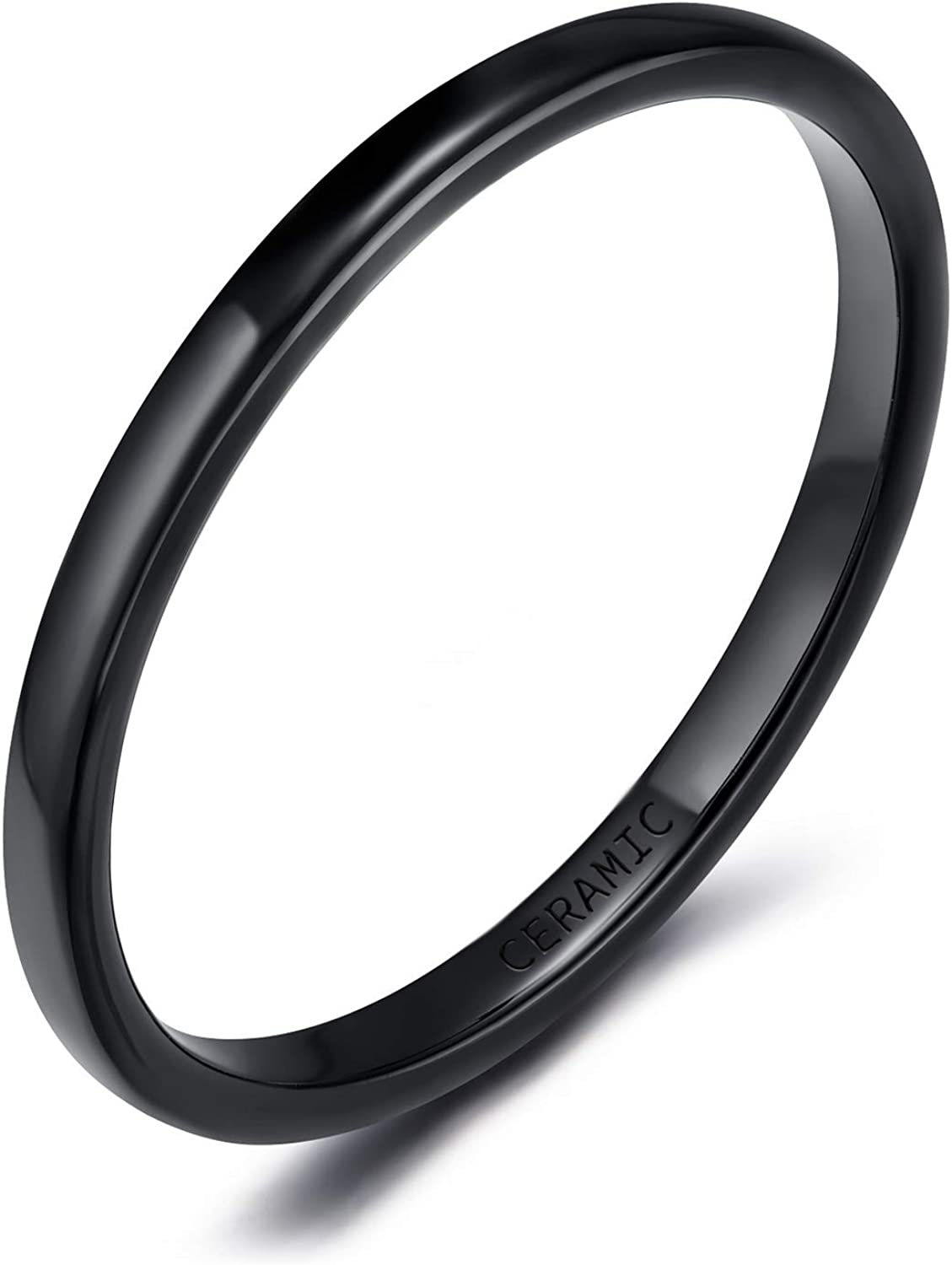 SOMEN TUNGSTEN 2mm 4mm Limited time trial Limited time sale price 6mm Black Wom for White Men Ceramic Rings