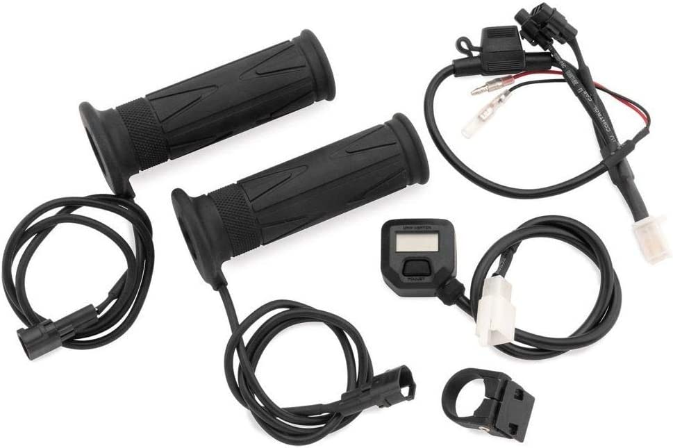 BikeMaster High material Heated Grips with Switch 8