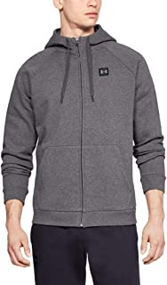 Under Armour Mens Rival Fleece FZ Hoodie Warm-Up Top