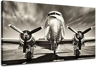 black and white airplane photos
