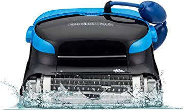 Dolphin Nautilus CC Plus Automatic Robotic Cleaner, Ideal for In-ground Swimming Pools up to 50 Feet