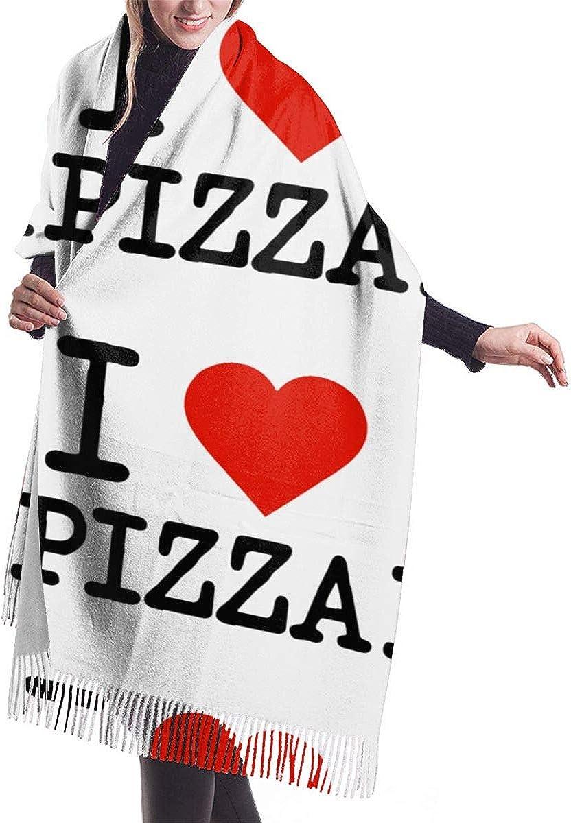 I Love Pizza. Winter Scarf Cashmere Scarves Stylish Shawl Wraps Blanket