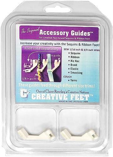 mejor precio Creative Feet Accessory Guide Set Set Set for Sequins N Ribbon Feet by Creative Feet  n ° 1 en línea