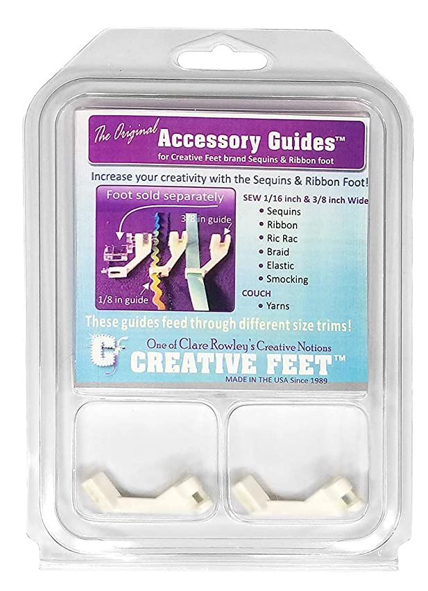 Creative Feet AG-94 Accessory Guide Set for Sequins & Ribbon Foot