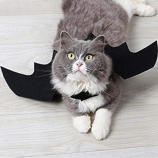 ハロウィン コスプレ コウモリ コスチューム ペット グッズ 小悪魔 猫 かわいい