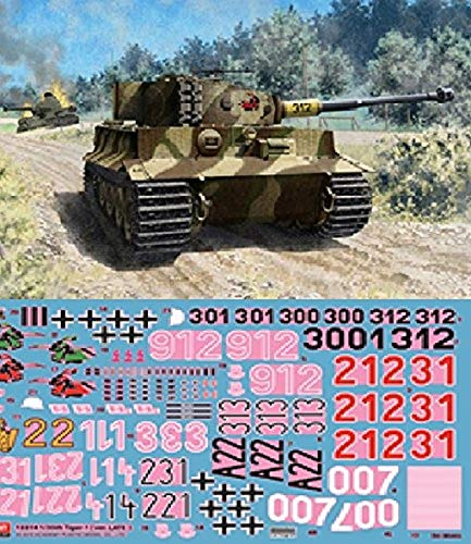 Academy AC13314 - 1/35 Tiger I Late Version, 13314