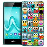Caseink - Coque Housse Etui pour Wiko Tommy [Crystal Gel HD Collection Claude Design...