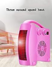 XMDZ Calentadores, Calentadores Eléctricos Oficina De La Mini Calentador Pequeño Movimiento Vertical Y Horizontal De Caliente Y Fría Aire Acondicionado