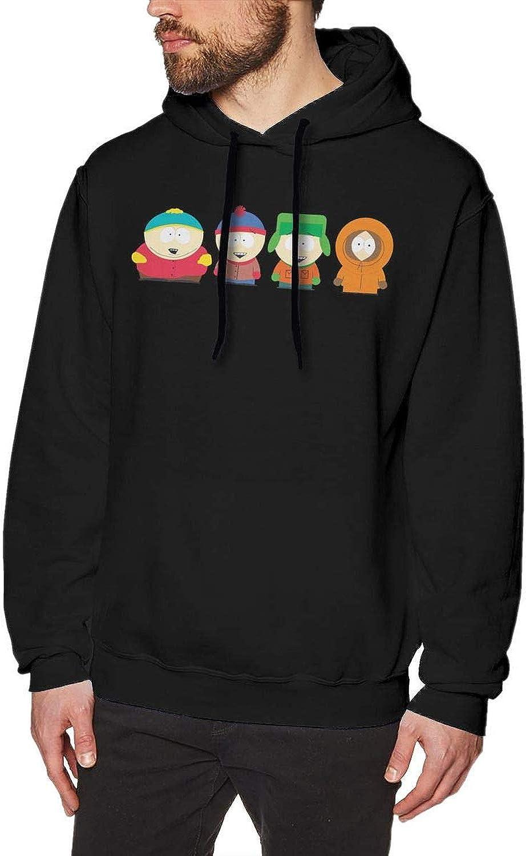 6caabd854 MOVCHARM South Park Park Park Season Mens Long Sleeve Sweatshirts Men's  Hoodies Black a14f70