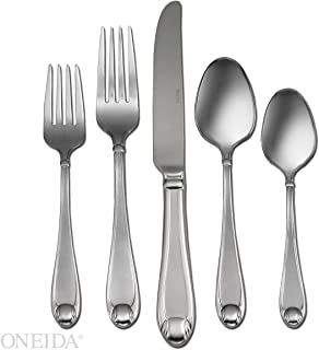 Oneida Satin Garnet 65-Piece Flatware Set, Service for 12